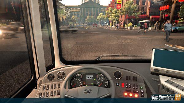 Auf dem Fahrersitz