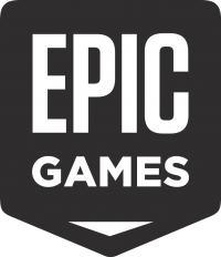 Logo of Epic Games