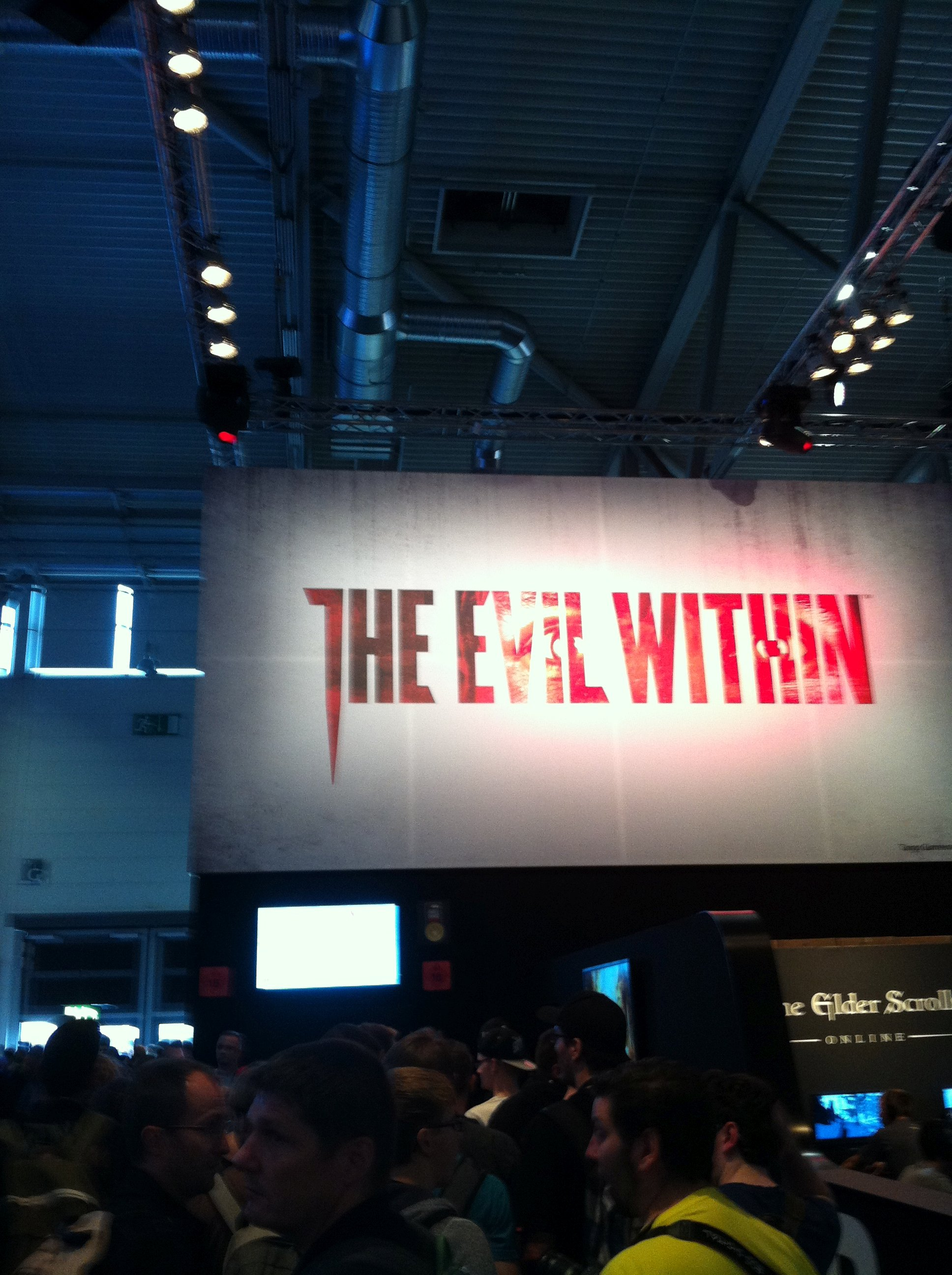 The evil within gamescom