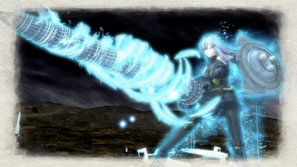 Selvaria Valkyria Attacking