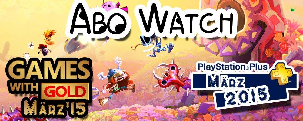 Abo Watch: PS+ & Xbox Live Gold-Titel im März 2015