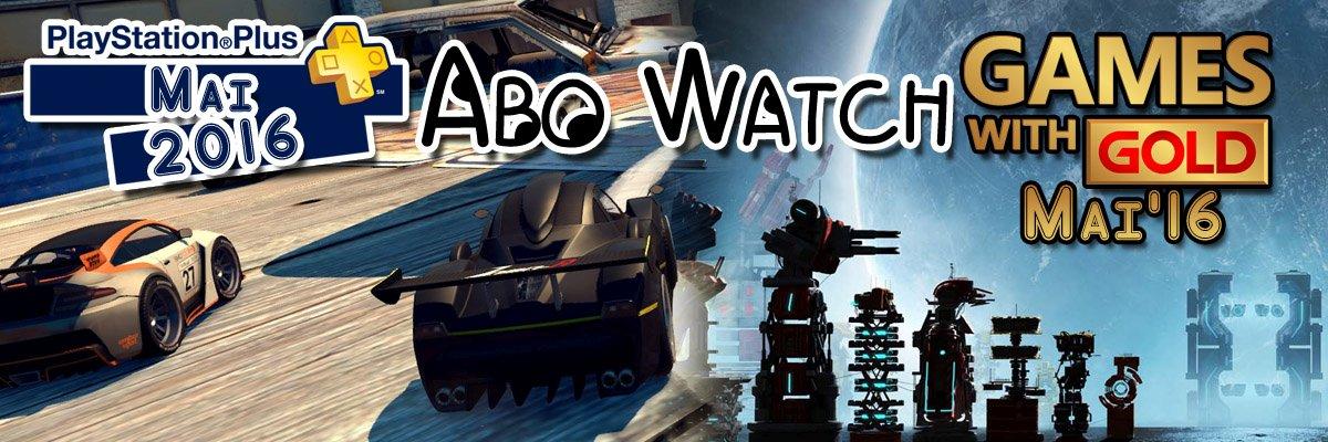 Abo Watch: Die Xbox Live Gold- und PlayStation Plus-Spiele im Mai 2016