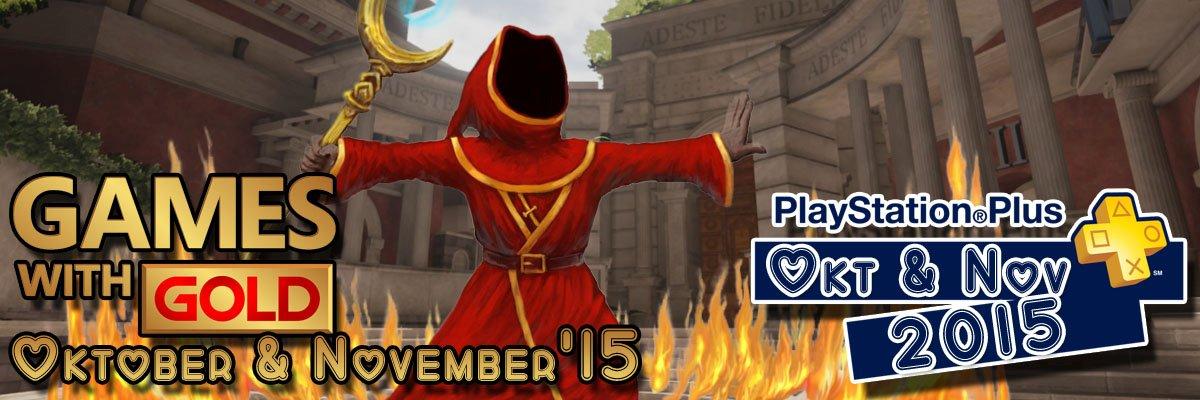 Abo Watch: PS+ & Xbox Live Gold-Titel im Oktober & November 2015