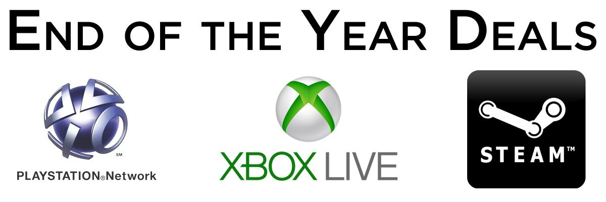 End of the Year Gaming Deals