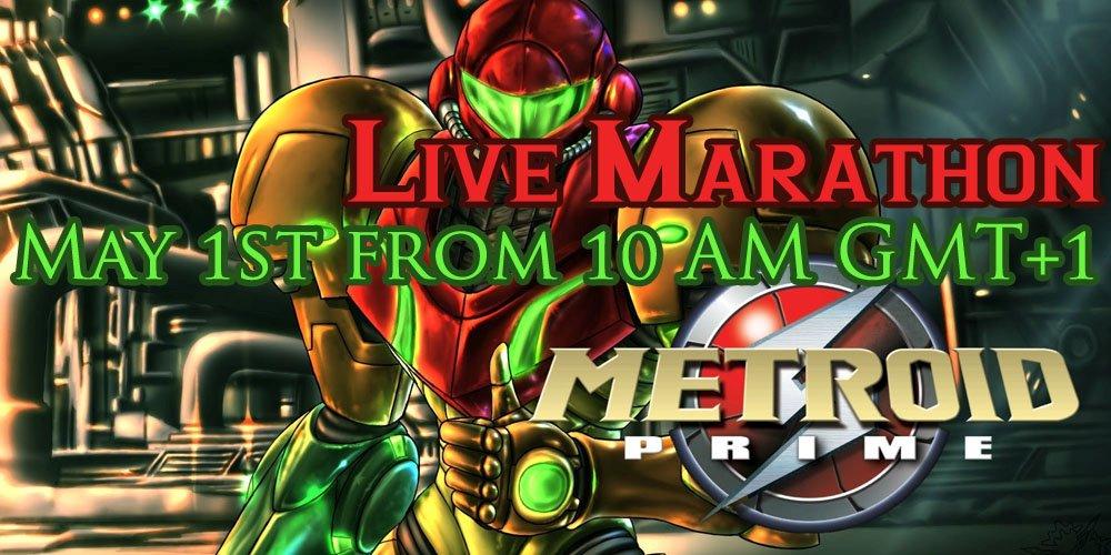 Live Marathon – Metroid Prime am 1. Mai
