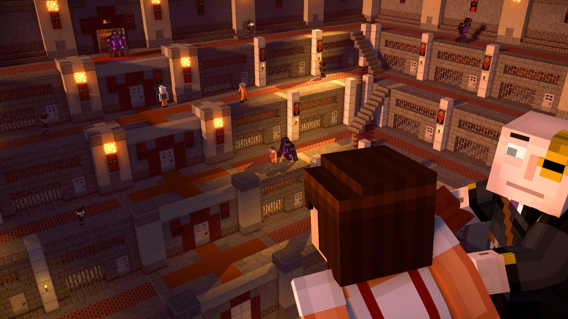 Im Test Minecraft Story Mode Season Two Episode XTgamer - Minecraft gefangnis spiele