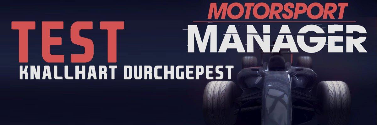 Im Test: Motorsport Manager