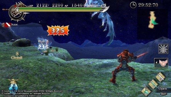 Ragnarok Odyssey Combat