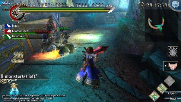 Ragnarok Odyssey Multiplayer