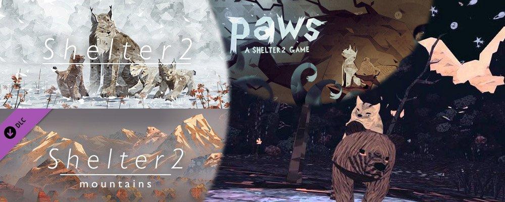 Im Test: Shelter 2-Saga inkl. Mountains & Paws